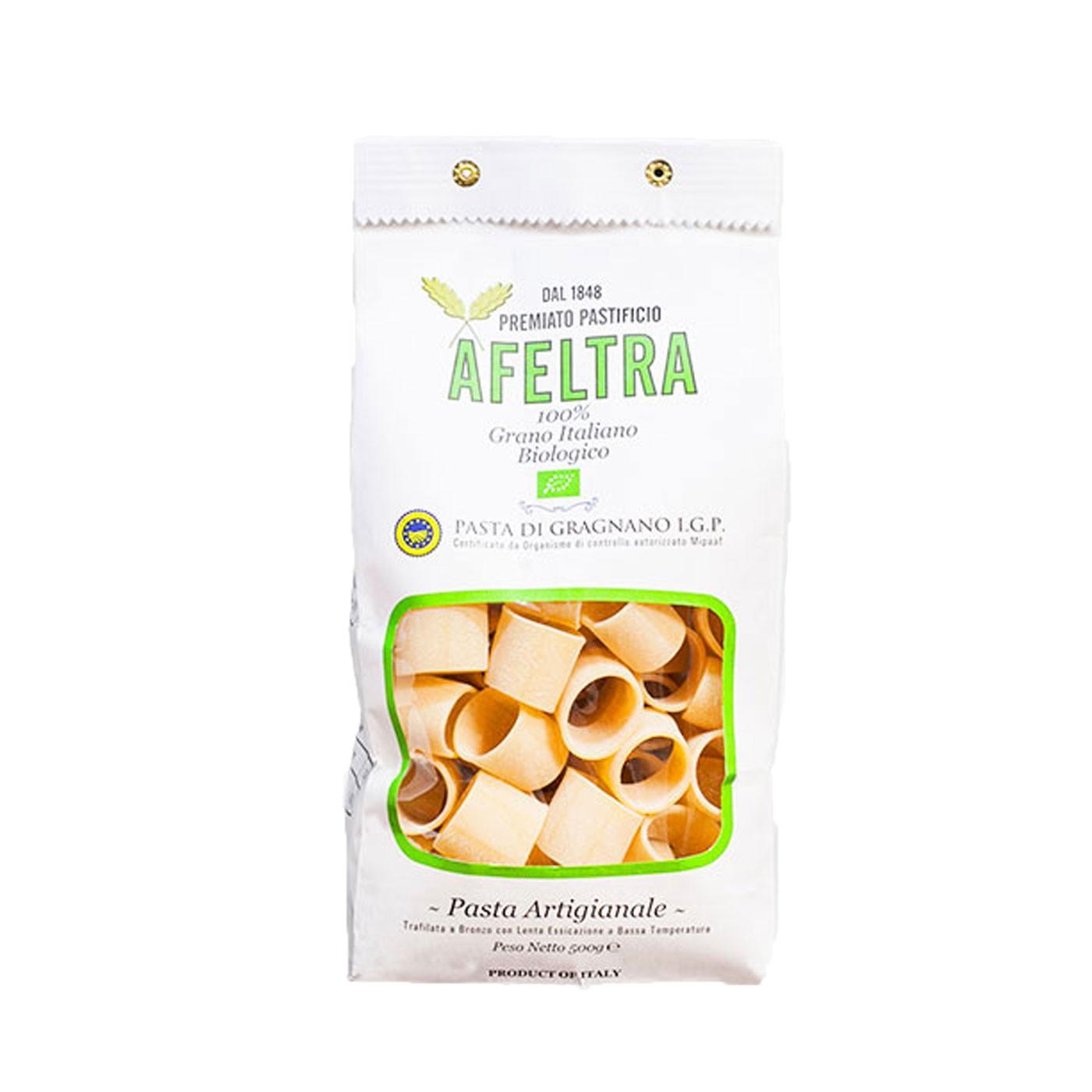 Organic Mezzi Paccheri 17.6 oz