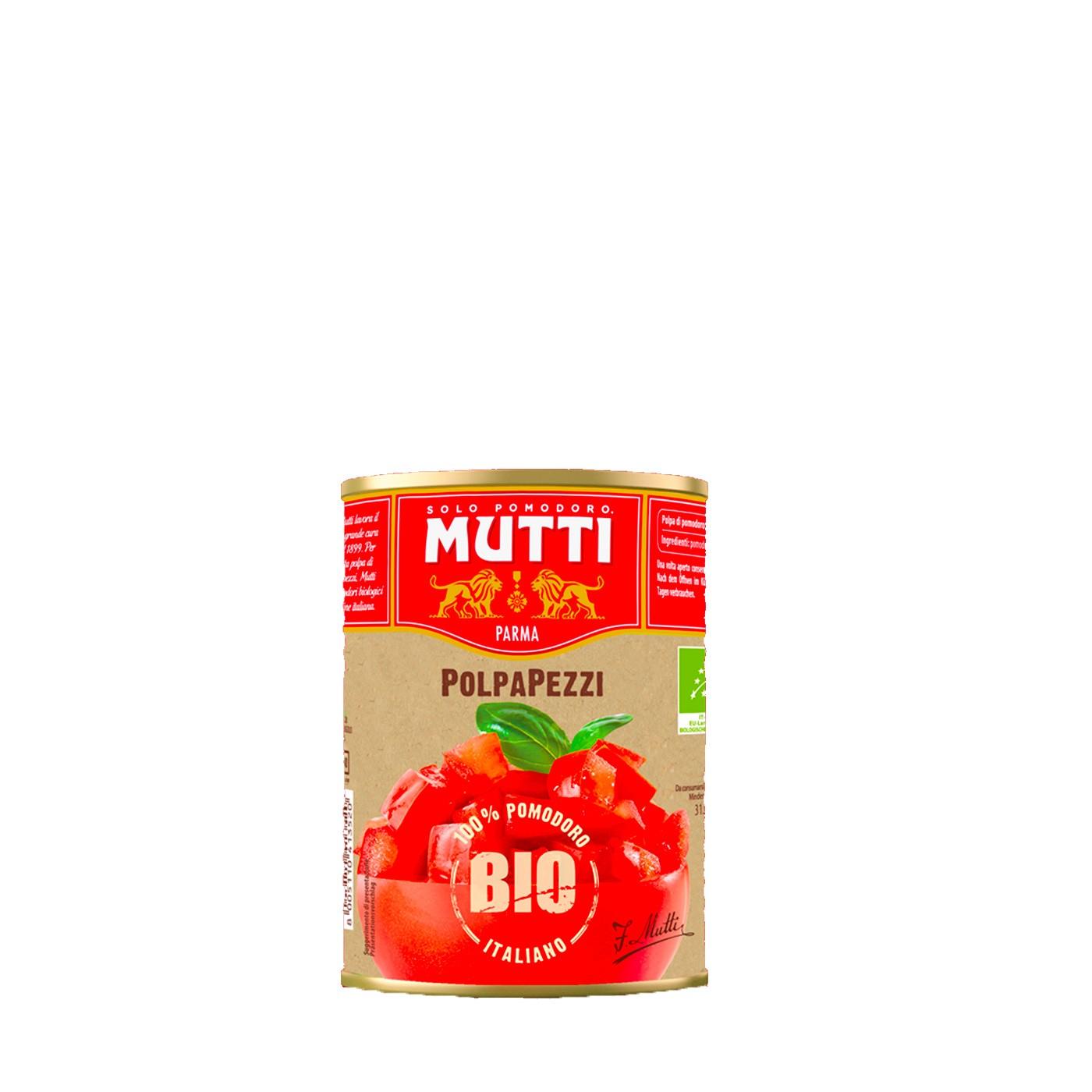 Organic Diced Tomato Pulp 14 oz