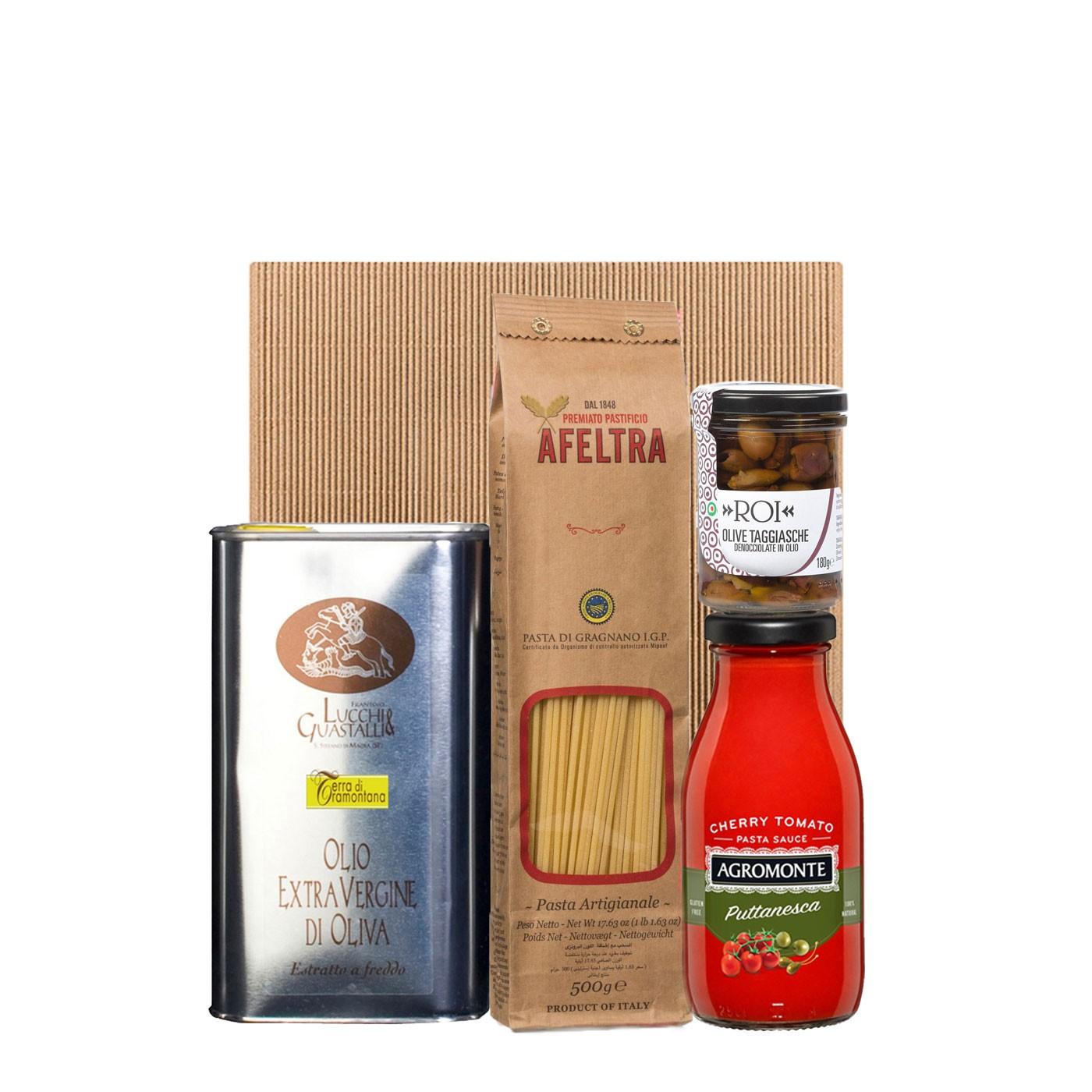 Spaghettone alla Puttanesca