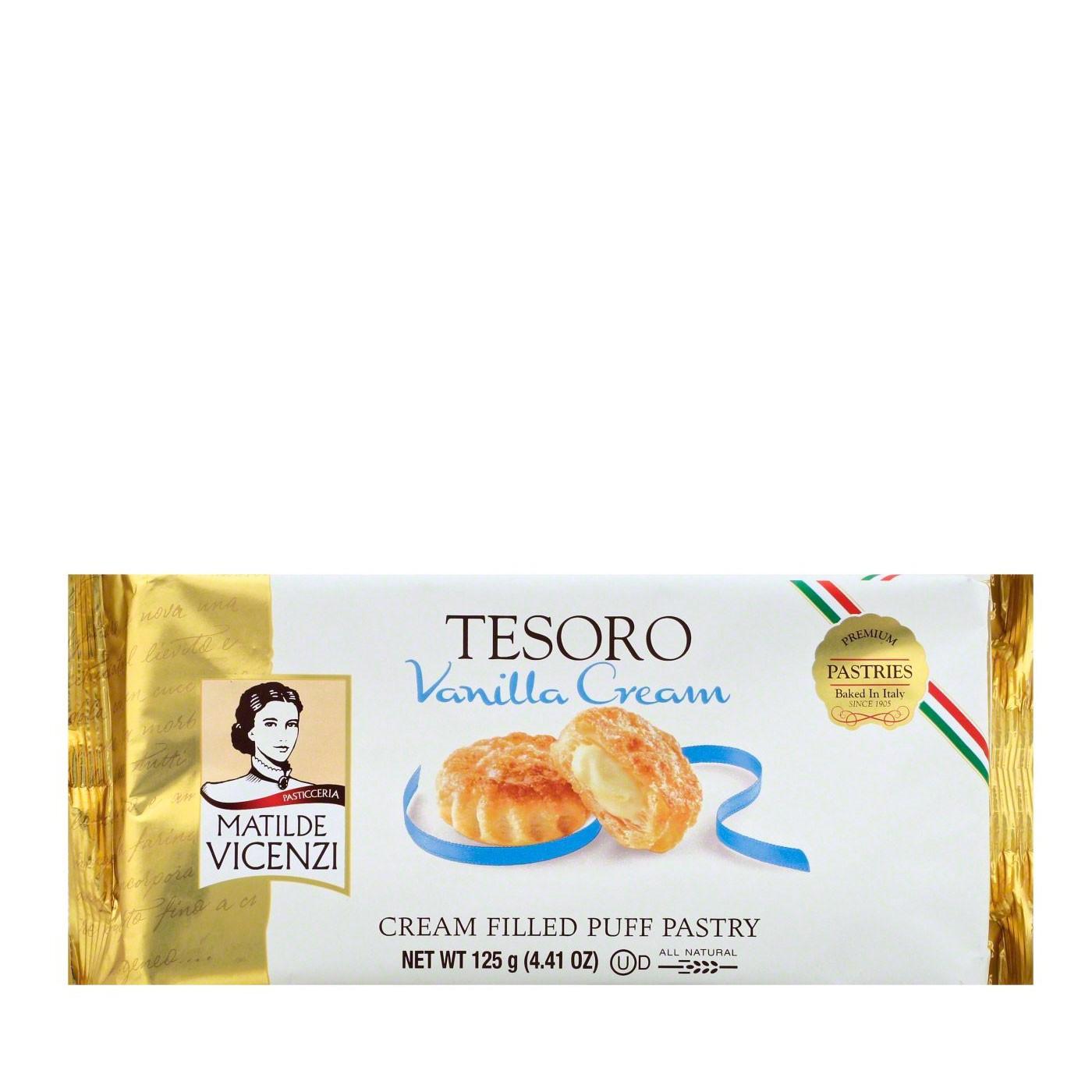 Tesoro Vanilla Puff Pastry 4.4 oz