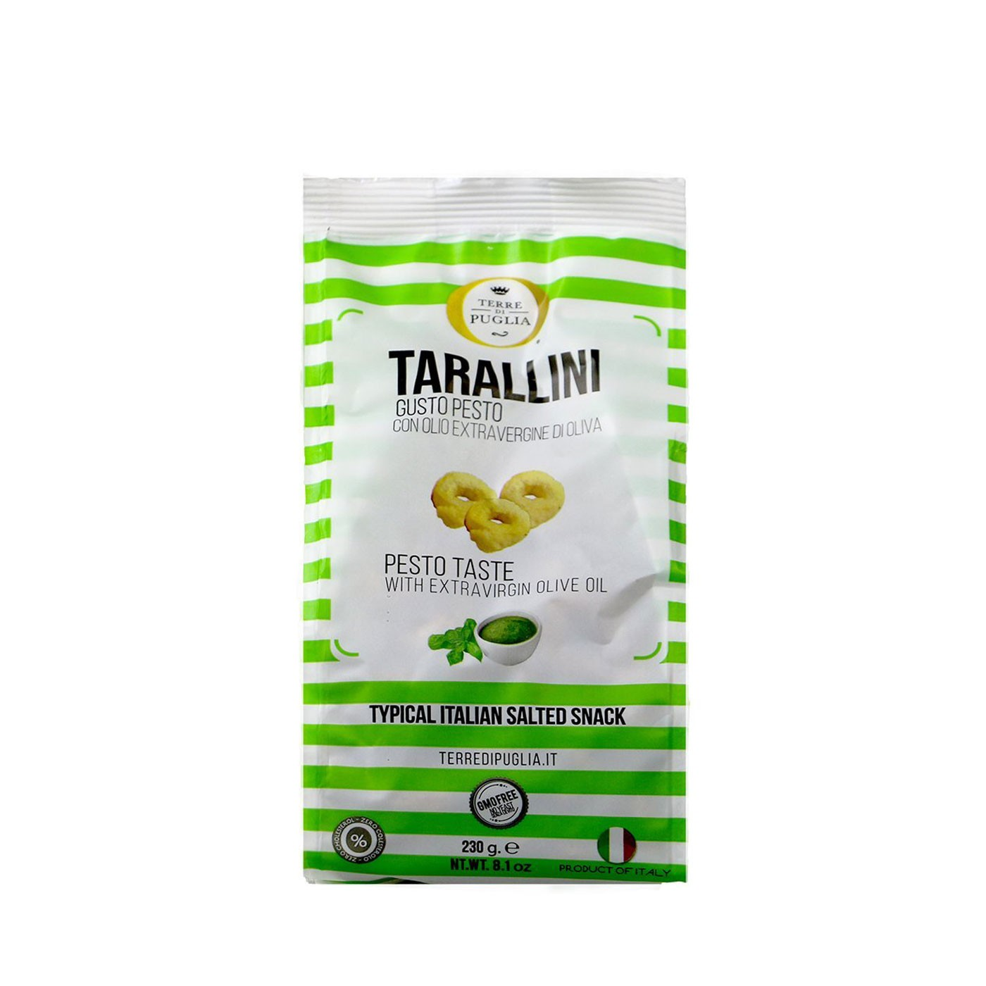 Pesto Tarallini Crackers 8.1oz