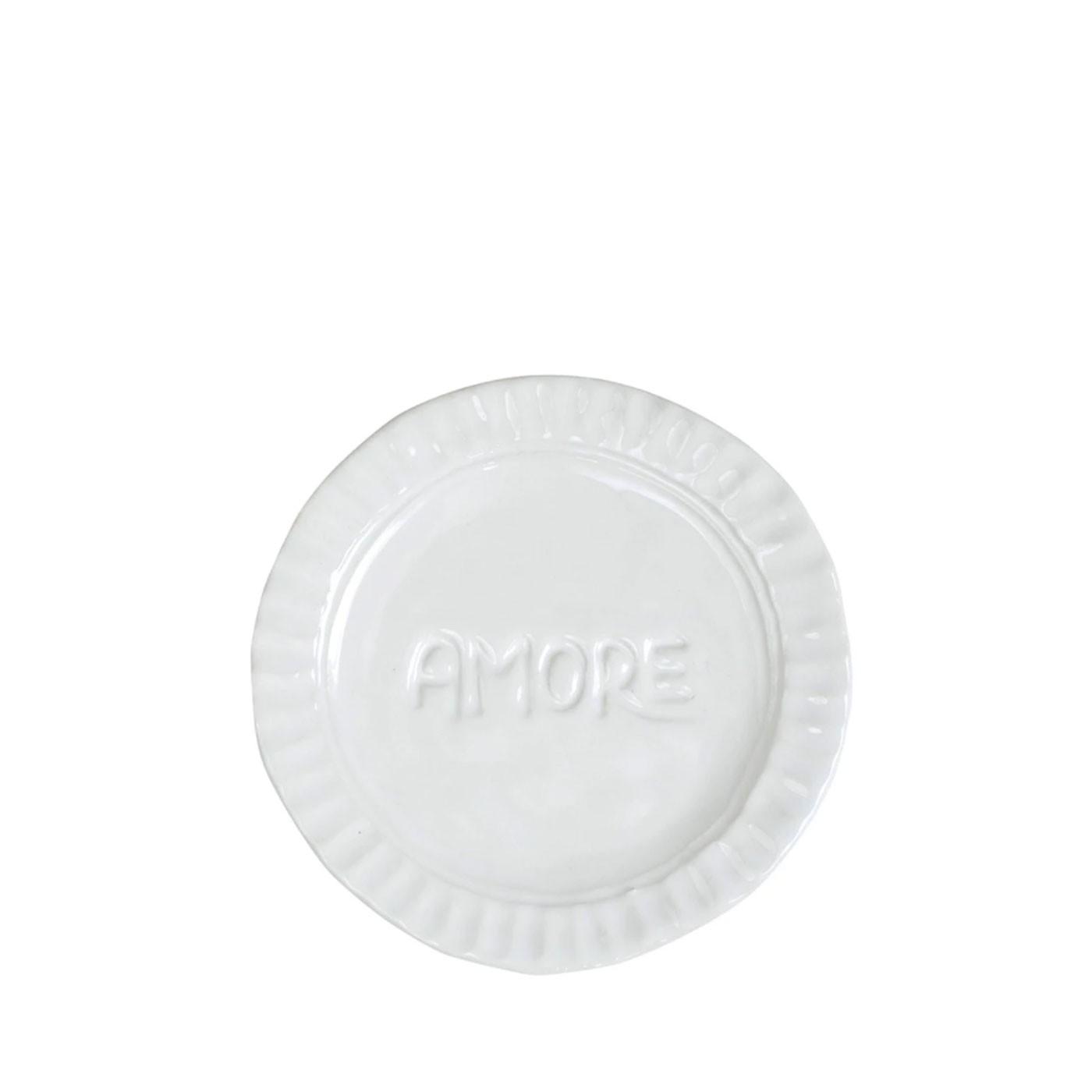 Pietra Serena Amore Plate - Vietri | Eataly.com
