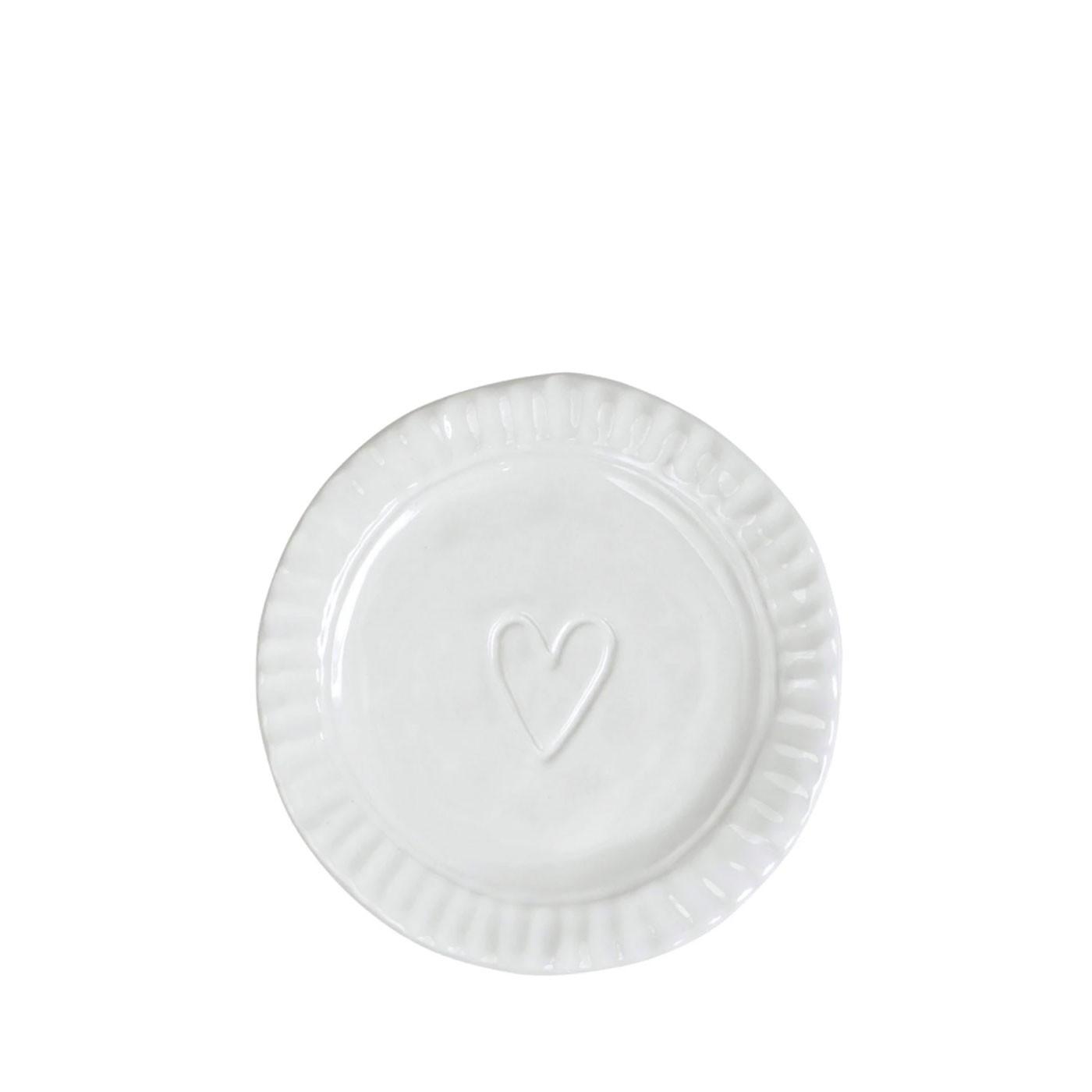 Pietra Serena Heart Plate - Vietri   Eataly.com
