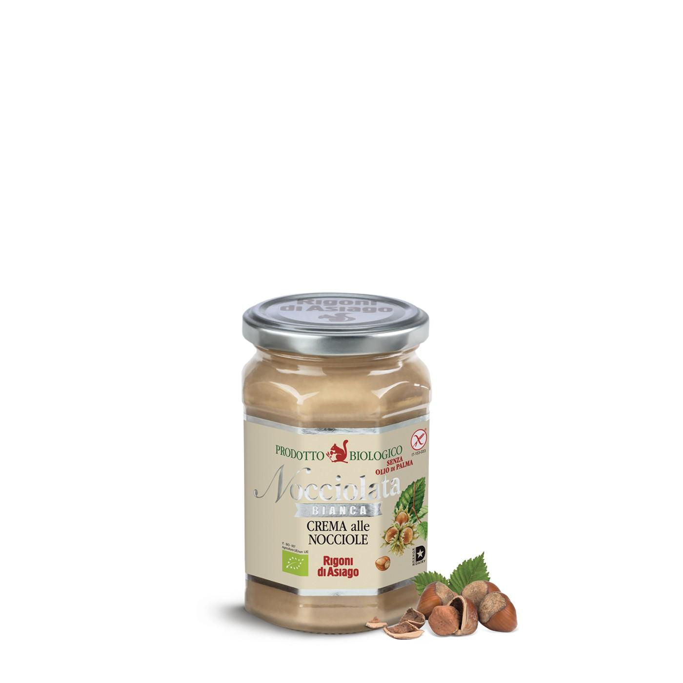 White Chocolate Hazelnut Spread
