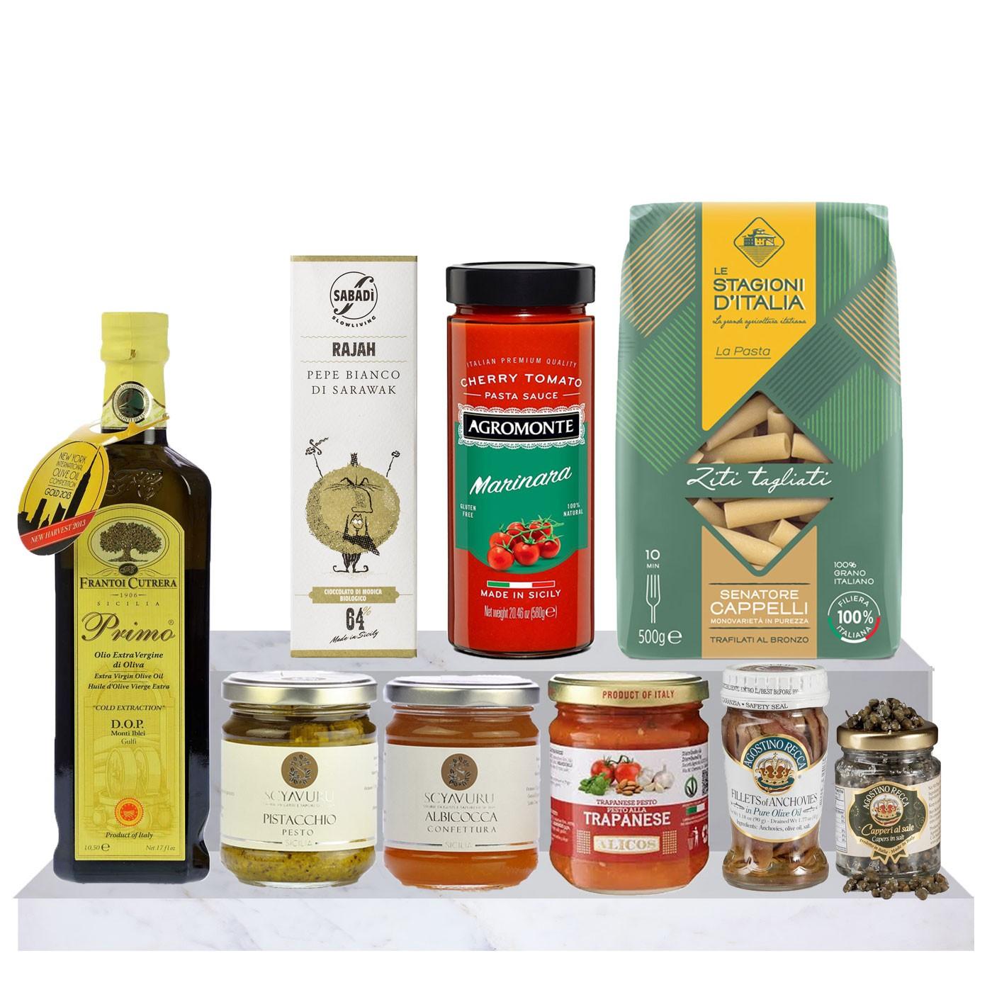 Sicilian food gift basket