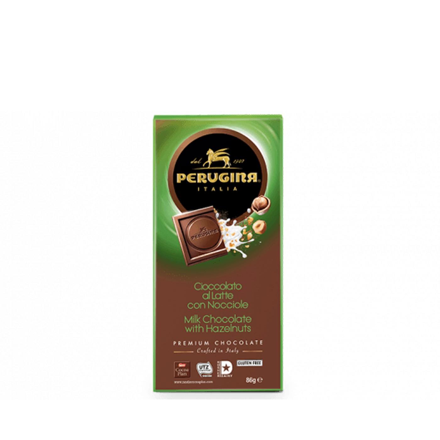 Milk Chocolate Bar with Hazelnuts 3 Oz