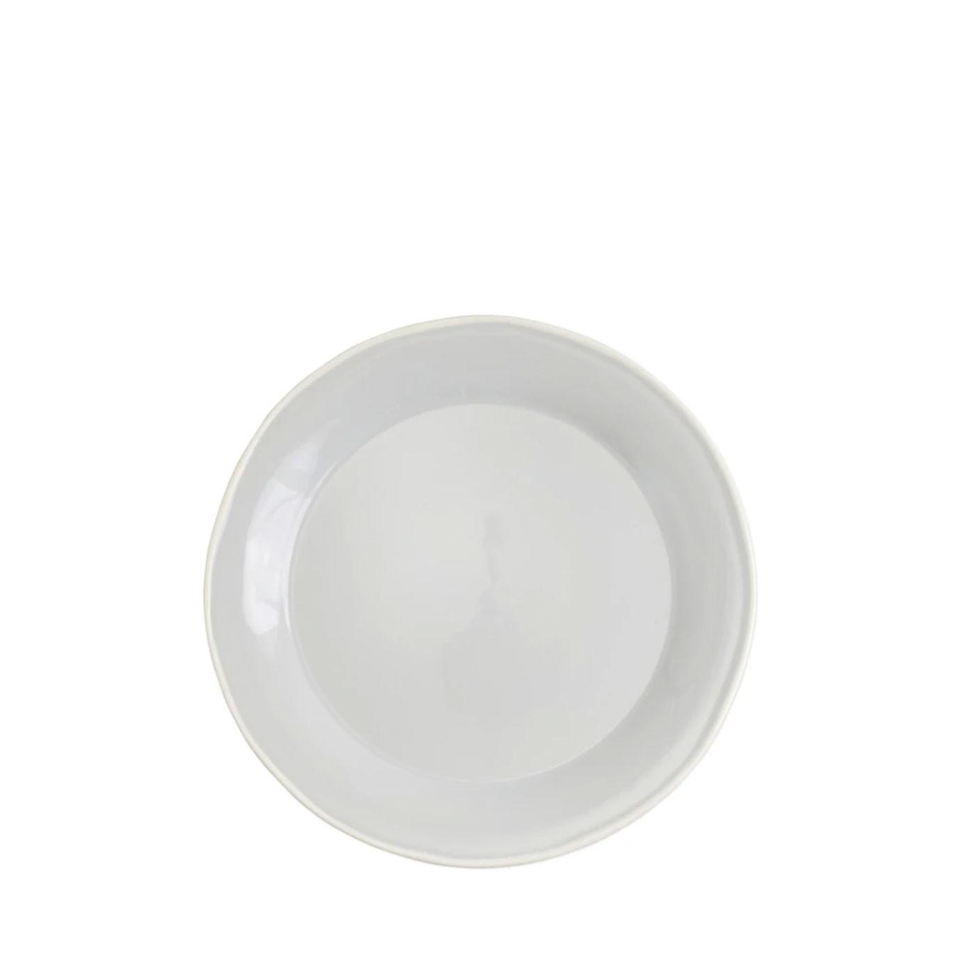 Chroma Light Gray Dinner Plate