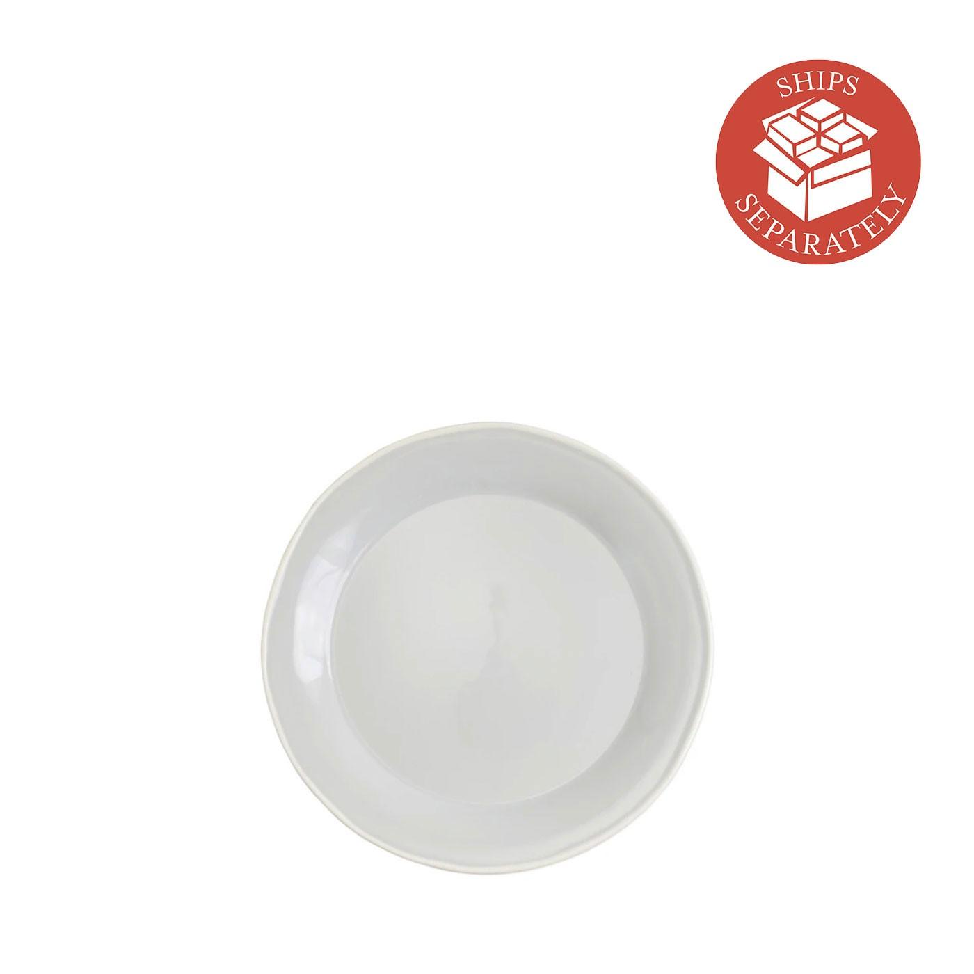 Chroma Light Gray  Salad Plate - Vietri | Eataly.com