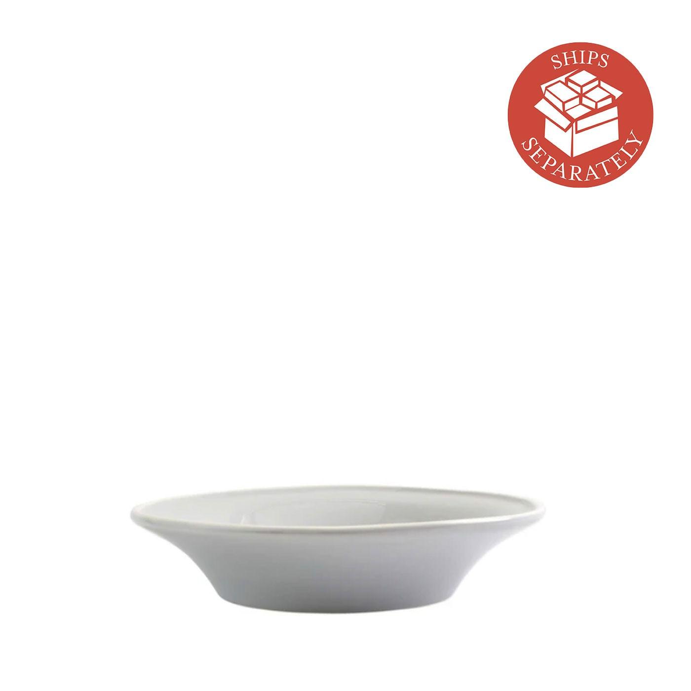 Chroma Light Gray Pasta Bowl - Vietri   Eataly.com
