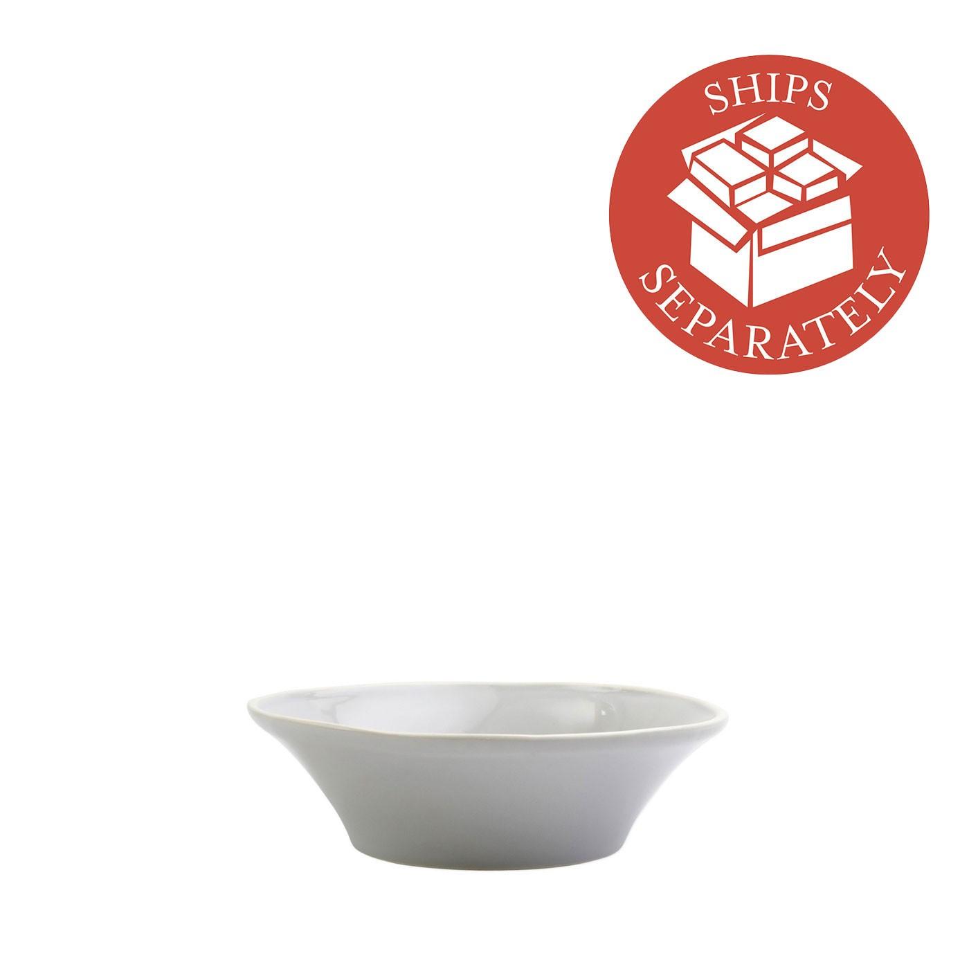 Chroma Light Gray Bowl - Vietri | Eataly.com