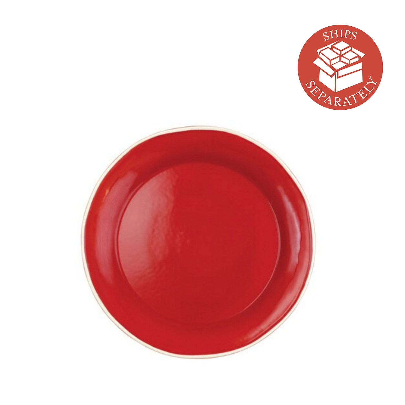 Chroma Red Dinner Plate - Vietri | Eataly.com