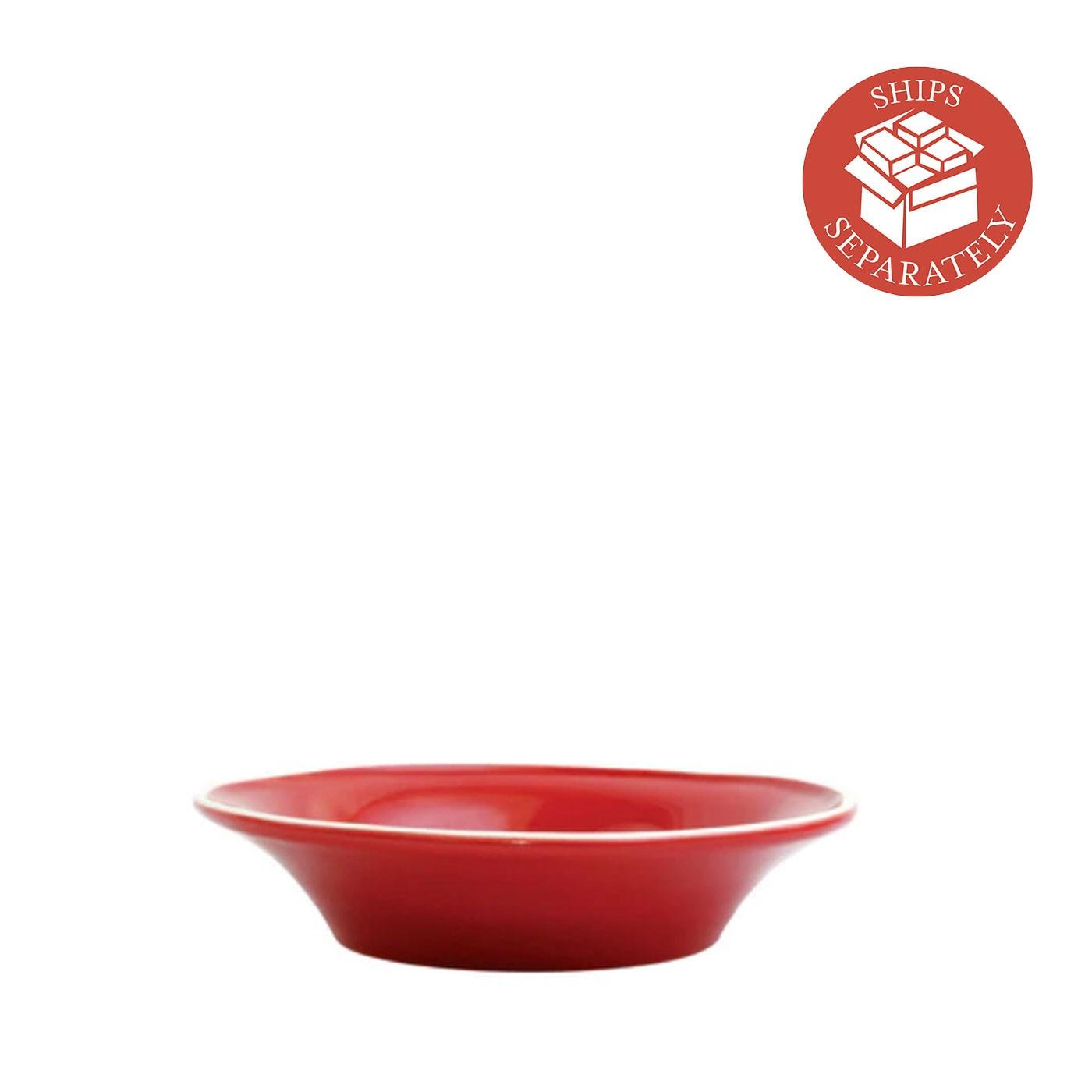 Chroma Red Pasta Bowl - Vietri   Eataly.com