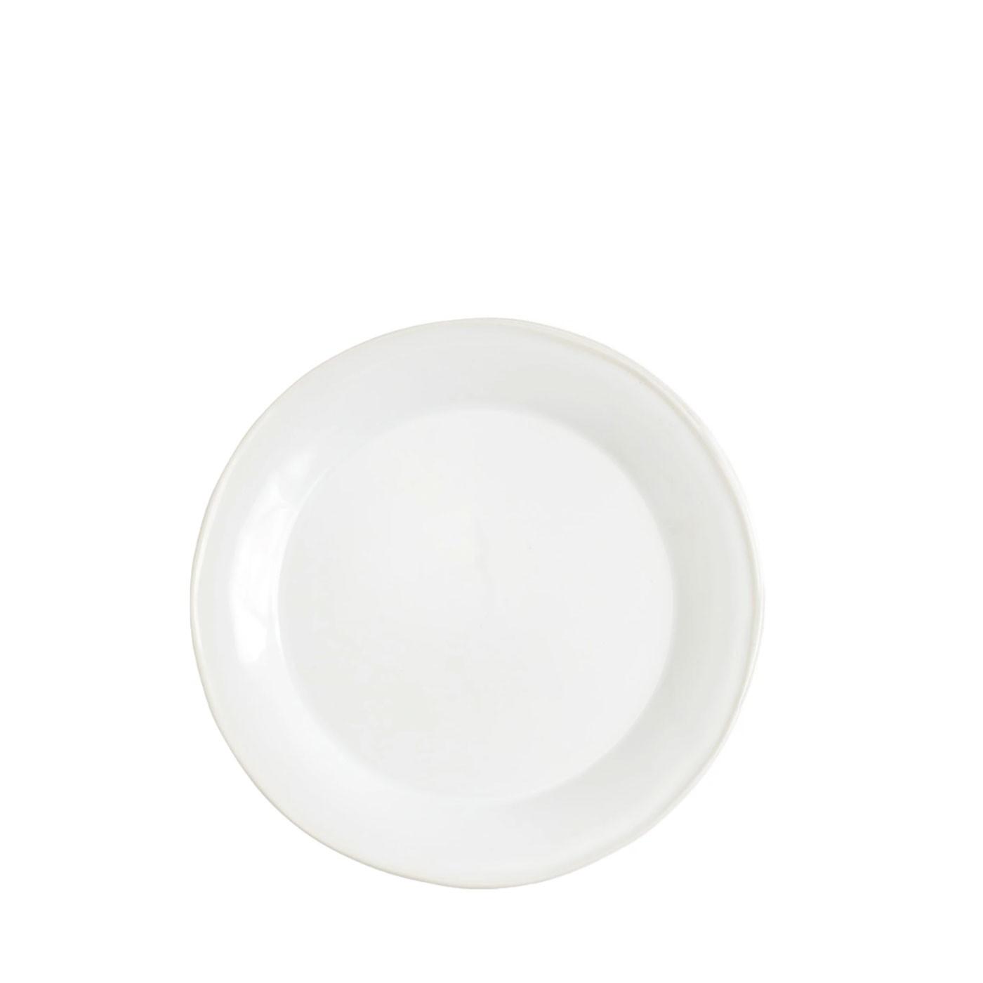 Chroma White Dinner Plate