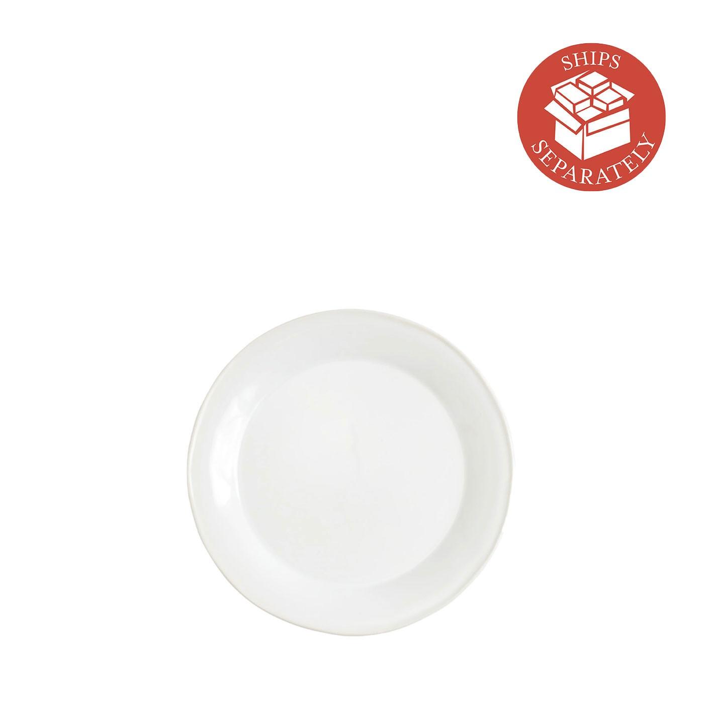Chroma White Salad Plate - Vietri | Eataly.com