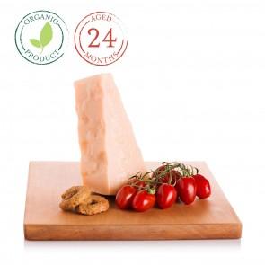 Organic Parmigiano Reggiano DOP 24 Month 0.5 lb