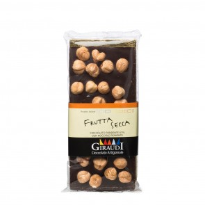 Dark Chocolate with Hazelnuts 3.5 oz