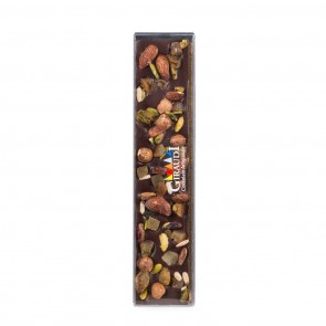 Dark Chocolate Bar with Nuts and Candied Fruit 4.23 oz