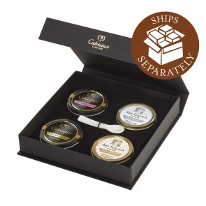 Caviar Four-Pack: Royal, Classic, Tradition, and Siberian 4*28g
