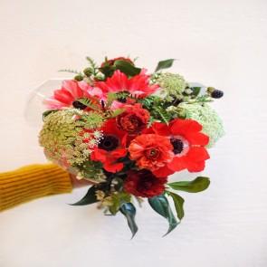 Hand-tied Flower Bouquet - 10 Stems