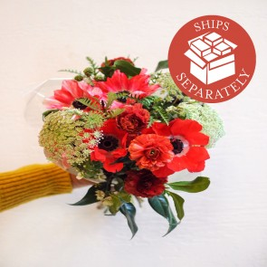 Hand-tied Flower Bouquet - 10 Stems