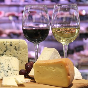 Formaggio & Vino: Alpine Cheeses & Wines