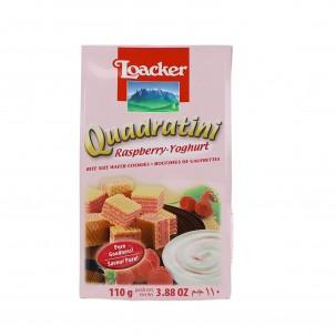 Raspberry and Yogurt Quadratini 3.9 oz