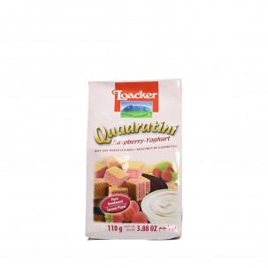 Raspberry and Yogurt Quadratini 3.9 oz