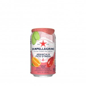 Prickly Pear and Orange Sparkling Soda 11 oz