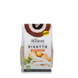 Salt Cod and Potato Risotto