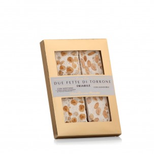 2 Slices of Torrone 2.1 Oz