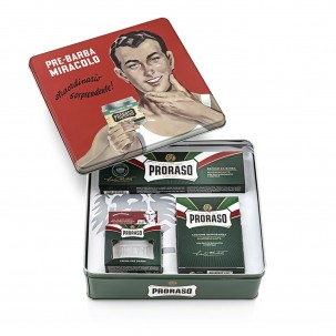 Vintage Gino Tin Shaving Kit