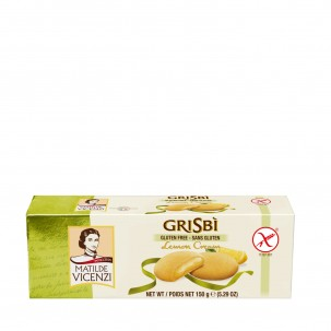 Grisbì Gluten-Free Lemon Cream-Filled Cookies 5.29 oz