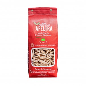Organic Whole Wheat Tortiglioni 17.6 oz - Afeltra
