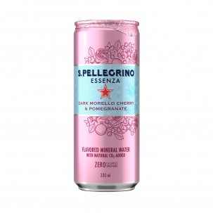 Essenza Cherry and Pomegranate Sparkling Water 11.1 oz