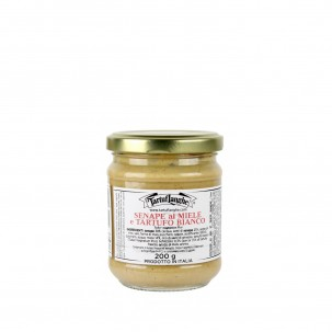 Honey and White Truffle Mustard 7 oz