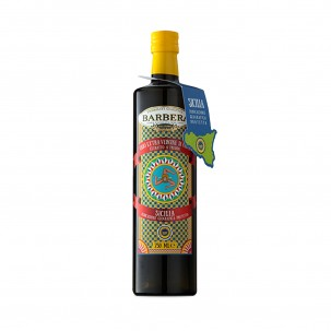 'Carretto' Sicilia IGP Extra Virgin Olive Oil in Glass Bottle 25.4 oz