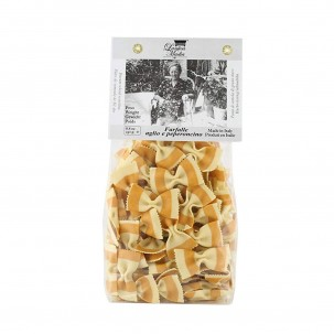Garlic and Chili Farfalle 8.8 oz - Antica Madia