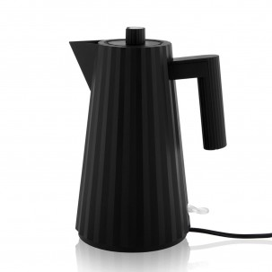 Plissé - Black Electric Water Kettle