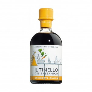 'Il Tinello' Yellow Label Balsamic Vinegar of Modena IGP 8.82 oz