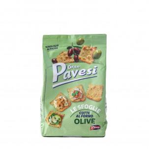 Le Sfoglie Gran Pavesi Olive Crackers 5.
