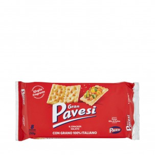 Gran Pavesi Salted Crackers 8.8 oz
