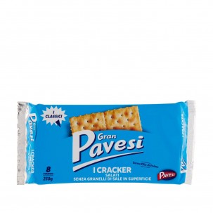 Gran Pavesi Reduced Salt Crackers 8.8 oz