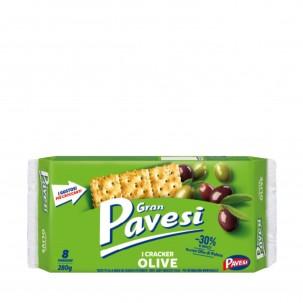 Gran Pavesi Olive Crackers 9.8 oz