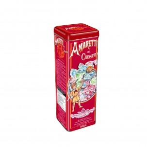 Crunchy Amaretti Cookies in Tower Tin 6.3 oz - Chiostro di Saronno | Eataly.com