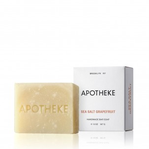 Sea Salt and Grapefruit Scented Soap Bar 5 oz
