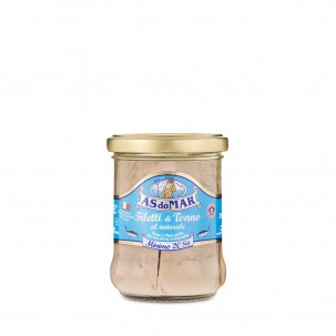Tuna Fillets in Brine - Jar 7.05 oz