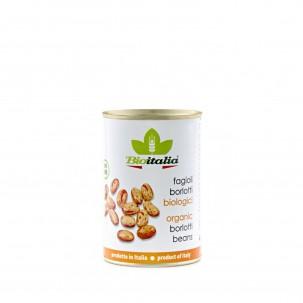 Organic Borlotti Beans 14 oz