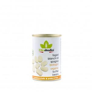 Organic Butter Beans 14 oz