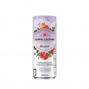 Momenti Pomegranate and Blackcurrant Sparkling Soda 11 oz