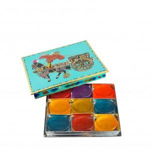 'Turquoise' Gift Box - Set of 9